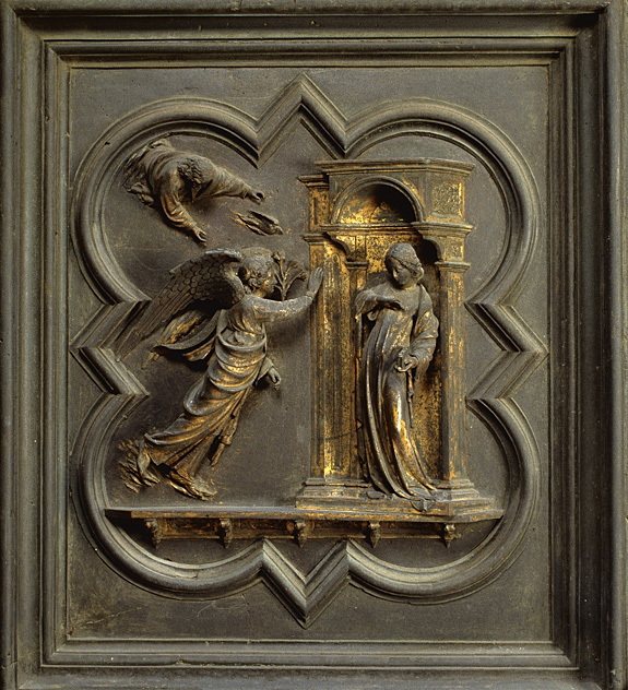 Panel I - The Annunciation